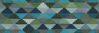 画像1: 「取寄せ」布:ティノ(ジャカード、空色・マリンブルー・グリーン)/700g (1)
