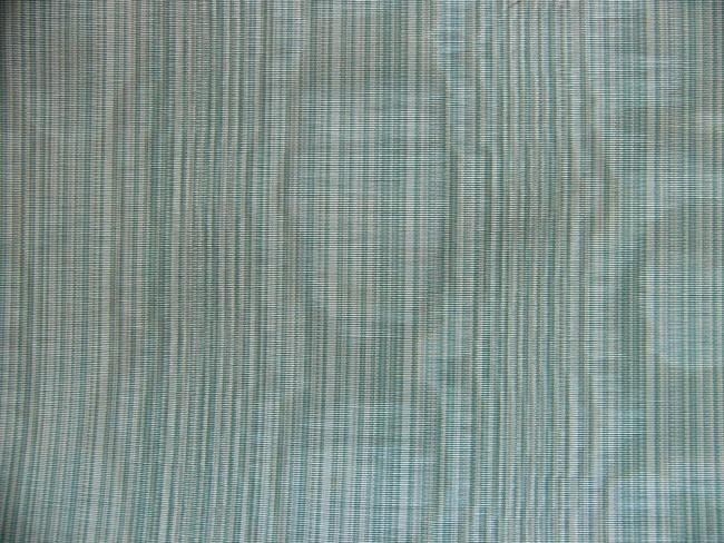 画像1: 「取寄せ」布:フィフ(ストライプ、ライトグリーン・ブルー系、モアレ)/420g (1)