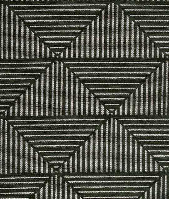 画像1: 「取寄せ」布:フロイド(ジャカード、深緑)/610g (1)