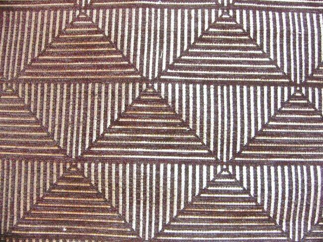 画像1: 「取寄せ」布:フロイド(ジャカード、黒)/610g (1)