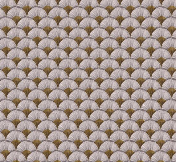 画像1: 「取寄せ」布:パピルス(クリームベースイエロー)/380g (1)