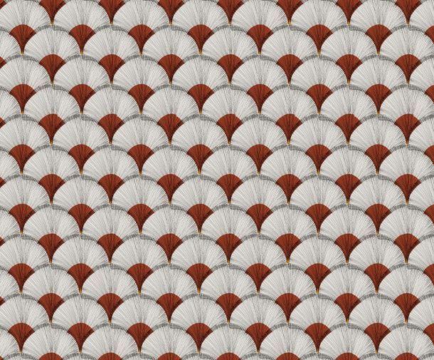 画像1: 「取寄せ」布:パピルス(クリームベース赤)/380g (1)