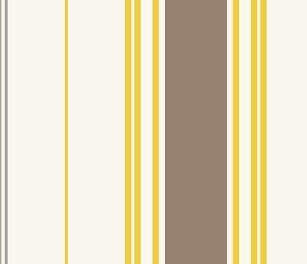 画像1: 「取寄せ」布:撥水加工サン=ジャン=ド=リュズ(黄色、トープ)/510g (1)