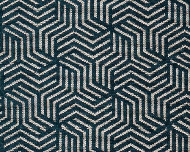 画像1: 「即納F」はぎれ69×50:ヴェルティゴ(ジャカード、ブルーパン)/155g (1)