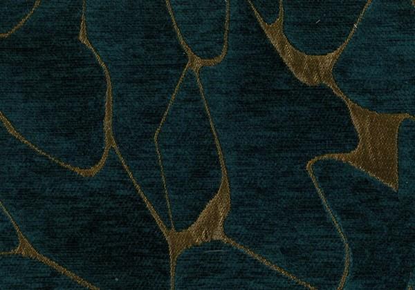 画像1: 「取寄せ」布:ミネラル(ジャカード、 ブルーカナル)/600g (1)