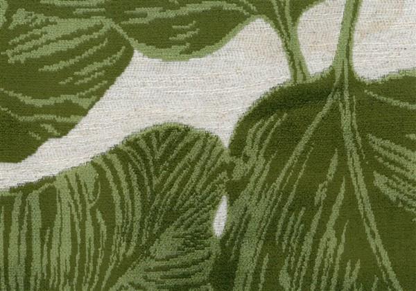 画像1: 「取寄せ」布:ユートピア(ジャカード、グリーン)/910g (1)