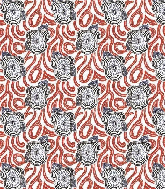 画像1: 「取寄せ」布:モーニンググローリー(赤・ブルー)/420g (1)