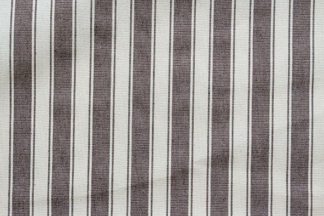 画像1: 「即納J/移動中」はぎれ70×50:ルーアン(ストライプ、ブラウン)/ 95g (1)