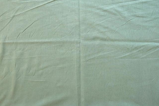 画像1: 「F在庫」 はぎれ75×50:薄手コットン無地(色番83 パティーナグリーン)/75g (1)