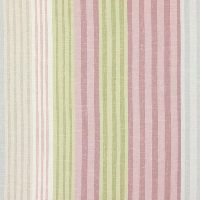 画像1: 「即納F」はぎれ68×50:バーリントン(ストライプ、ヴィンテージ、ピンク・水色・グリーン)/80g (1)