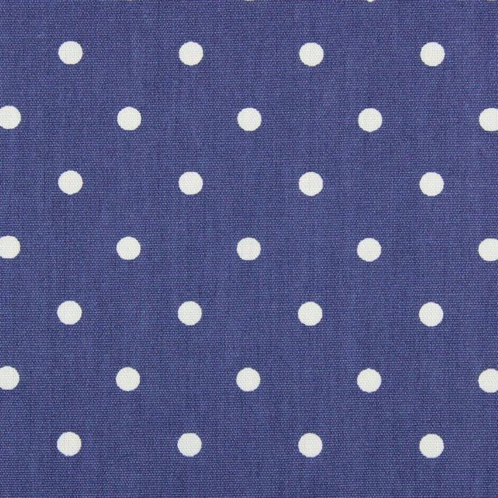画像1: 「即納F」はぎれ68×50:フルストップ(ドット、デニム)/85g (1)