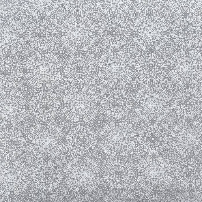 画像1: 「移動中」はぎれ69×50:ドリームキャッチャー(ジャカード、クラウドグレイ) /113g (1)