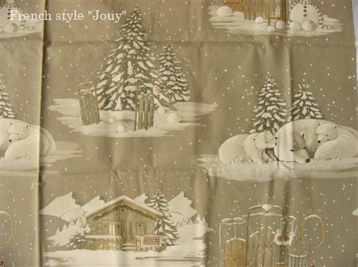 画像1: 「取寄せ」布:雪のように白く(コットン地) /380g (1)