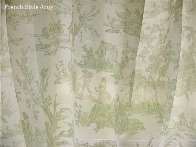 画像1: 「取寄せ」布:復刻版tdj四季の喜び(ボイル、白ベースグリーン)長さ50cm単位 /60g (1)