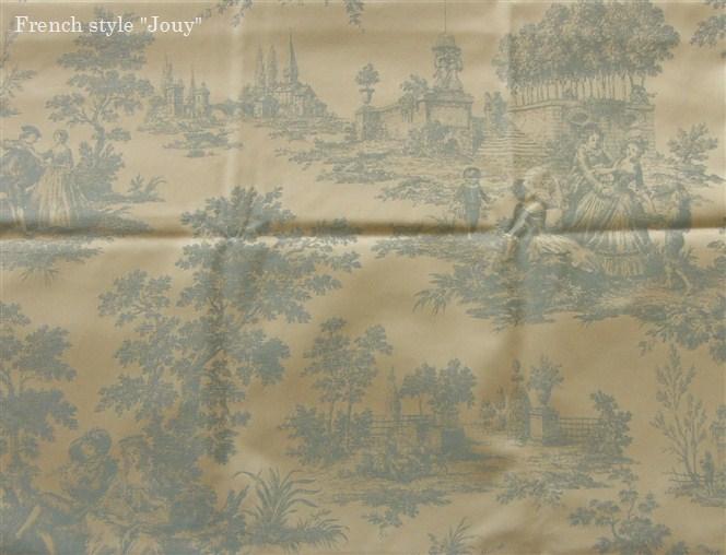 画像1: 「取寄せ」布:トルビアック(水色)長さ50cm単位 /240g (1)