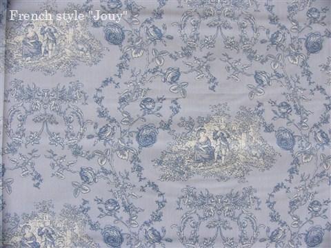 画像1: 「即納J」布:プランセス(水色ベース)長さ50cm単位 /80g (1)