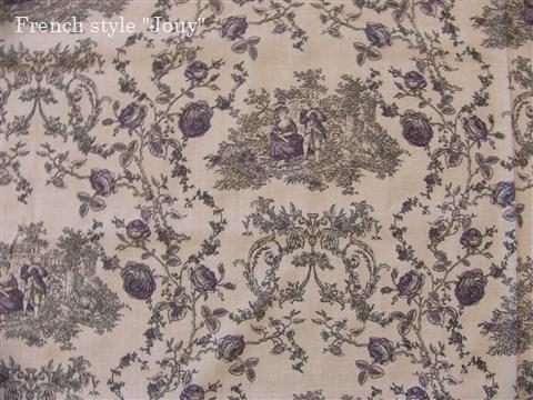 画像1: 「即納J/F」布:プランセス(シャンブレー紫)長さ50cm単位 /80g (1)